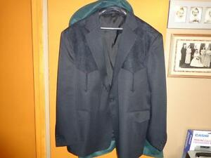MEN'S BLACK SUIT COAT