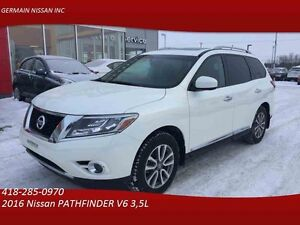 2016 Nissan PATHFINDER SL 4WD GPS-CUIR-TOIT PANORAMIQUE