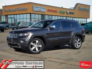 2014 Jeep Grand Cherokee Limited~Leather~Sunroof~Navigation~