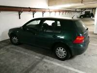 2000 vw golf green