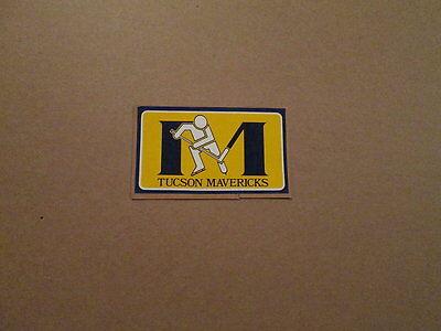 CHL Tucson Mavericks Vintage Defunct Team Logo Sticker