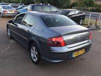 2005 Peugeot 407 Diesel 1.6hdi,10 month mot,good runner,ac,cd,clean,remote key,economical & reliable