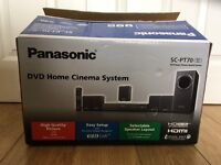 Panasonic DVD player and home cinema system