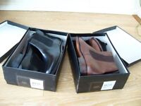 BRAND NEW and BOXED - 2 pairs of Samuel Windsor Hand made Leather Mens boots