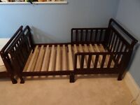 Toddler bed - wooden
