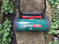 Reserved...Lawn mower and hedge trimmer