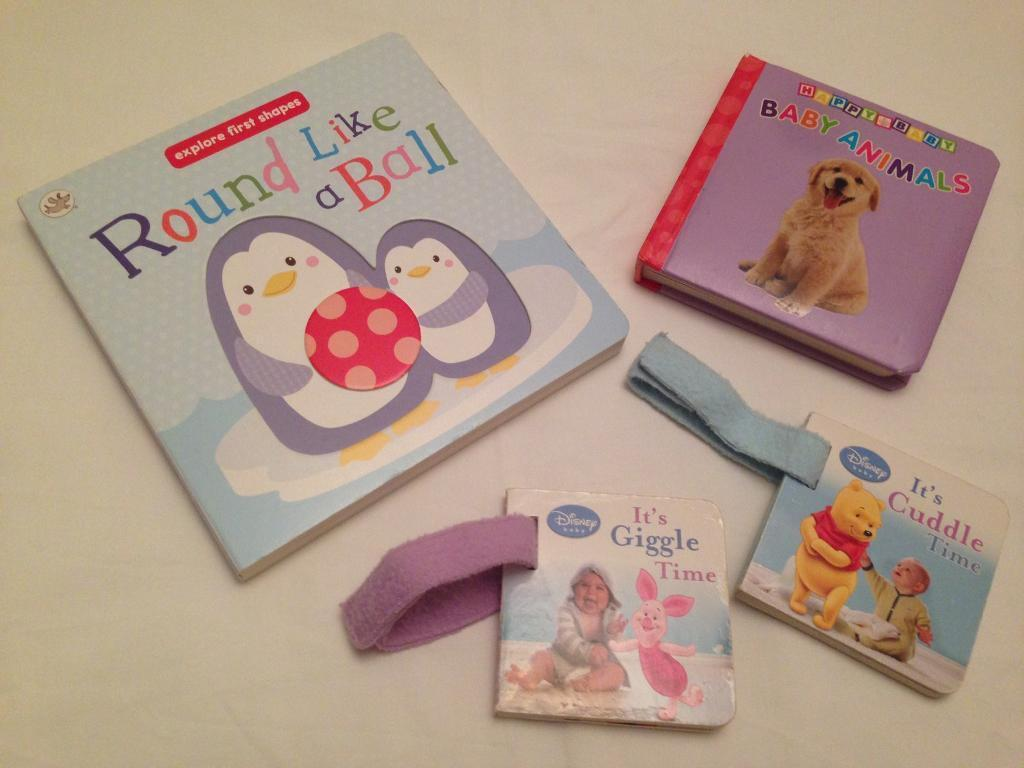 Small bundle of baby buggy books