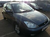 FORD FOCUS 1.8 TDCI ZETEC ALLOYS LEATHER HEATED SEATS 6 MONTHS MOT 3DR