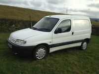 Citroen berlingo van 1.9 d long mot, ready to go, bargain must be sold ,,,,,,,, may part ex