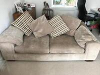 Comfy 3 seater sofas. £50 each