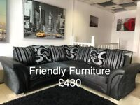 New sofa's , corner sofa beds , swivel chair , footstool and more