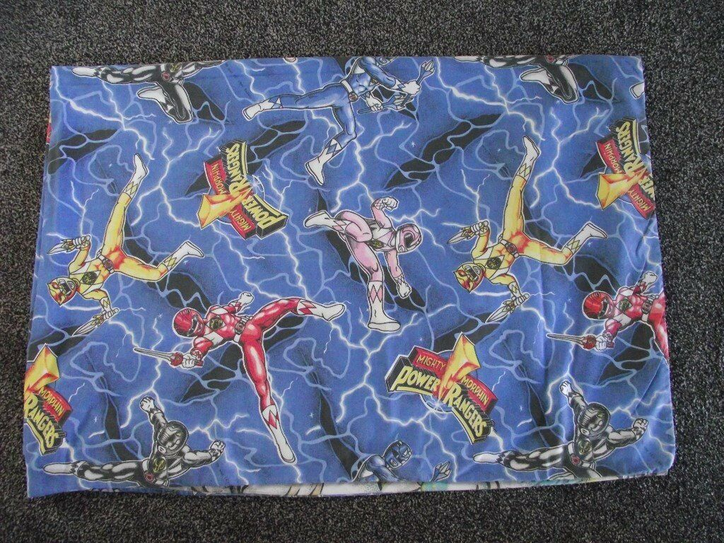 POWER RANGERS SINGLE DUVET COVER