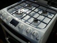 Zanussi gas double oven