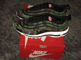Nike air max 97 country camo Uk pack Rare Uk size 9 And SOLD out worldwide