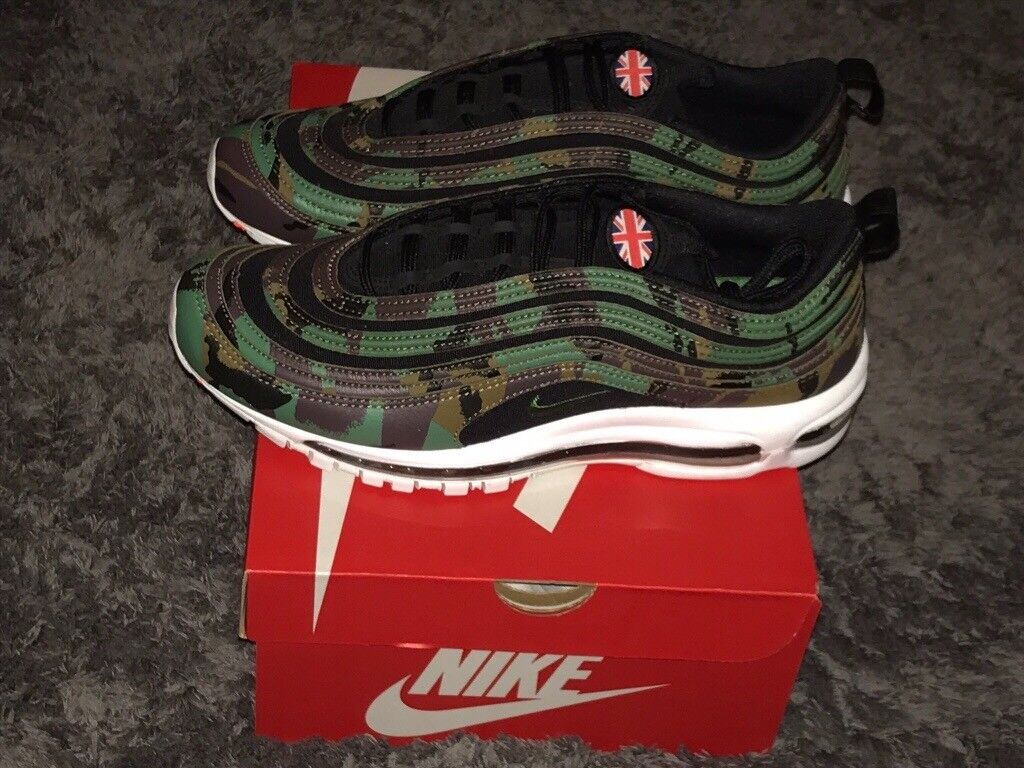0b31637f650be Nike air max 97 country camo Uk pack Rare Uk size 9 And SOLD out worldwide