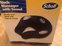 Scholl Neck Massager with Sound and Heat