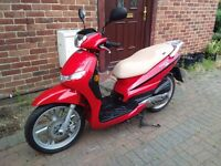 2016 Peugeot Tweet 50 scooter, 7 months old, only 600 miles, very good runner, good condition, red