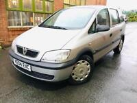 VAUXHALL ZAFIRA 1.6i CLUB 7 SEATER.. FULL 12 MONTHS MOT.. x2 Keys.. lovely clean 2 owner car