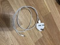 Genuine Apple iPhone charger