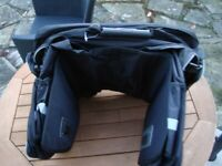 BRAND NEW REAR BIKE PANNIER BAGS COST £39 BARGAIN ONLY £20 FOR QUICK SALE
