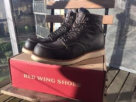 Red Wing Heritage Moc Toe 8890 - UK 9 - 3 weeks old
