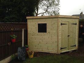 corner sheds
