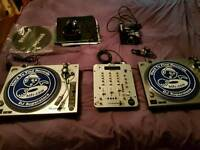 Dj decks and accessories