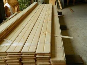 Accent Walls or Ceilings-prefinished Pine