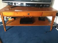 Coffee table, magazine stand, side tables, half circle table