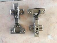 Kitchen fixings - Hinges and wall fixings