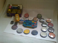 SNAZAROO, GRIMAS, FARDEL, BODY /FACE PAINTS: Various Colours, Some Part Used