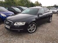 Audi A6 Saloon 2.7 TDI SE Saloon 4dr Diesel Automatic Quattro, FULL SERVICE HISTORY. FULL LEATHER
