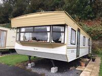 Tudor Rosewood Static Caravan 36x12 2 bedroom static caravan home unsited self-build accommodation