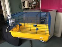 Indoor pet cage suitable for rat, guinea pig, small rabbit
