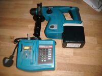 New Makita BHR200 24V SDS Drill.