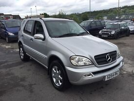 Mercedes-Benz M Class 2.7 ML270 CDI 5dr 7 SEATER+LEATHER+P.LADY OWNER 2004 (54 reg), SUV
