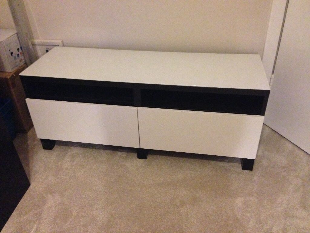 IKEA BESTA TV bench with drawers
