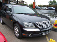 VERY RARE NONE AVAILABLE IN THE UK CHRYSLER PACIFICA BI FUEL 6 SEATER FULLY LOADED £4995