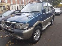Nissan Terrano II 2.7 d moted march. 7 seater