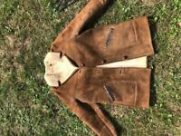 "Classic genuine vintage sheepskin jacket- ""made in England"""
