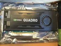 Nvidia Quadro K4000 3GB GDDR5 Graphics Card - FREE POSTAGE
