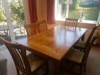 M&S Malabar Dining Table and 6 Chairs