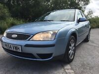 2004 FORD MONDEO MISTRAL 2.0CC TDCI DIESEL,MOT 14 NOVEMBER 2017,GREAT RUNNER WITH ELECTRIC TOW BAR