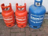 15Kg Butane blue gas cylinder