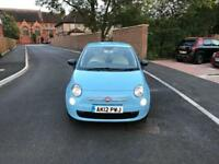 Fiat 500 1.2 Petrol 2012 Low Mileage 2 keys HPi Clear