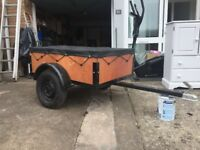 Excellent condition 4 foot by 3 foot Trailer