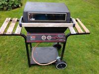 Pro chef gas barbecue