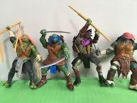 Set of TEENAGE MUTANT NINJA TURTLE Figures