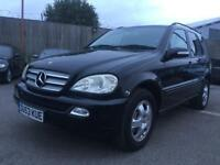 MERCEDES ML270 ** 7 SEATER ** FULLY LOADED ** FSH