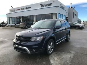 2017 Dodge Journey Crossroad- LEATHER HEATED SEATS & WHEEL